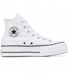CONVERSE CHUCK TAYLOR ALL STAR LIFT HI BLANCO W