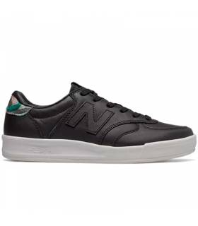 NEW BALANCE 300 LEATHER NEGRO W