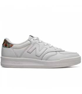 NEW BALANCE 300 LEATHER BLANCO W