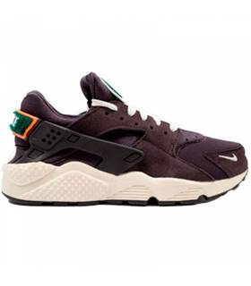 NIKE AIR HUARACHE RUN PREMIUM NEGRO M