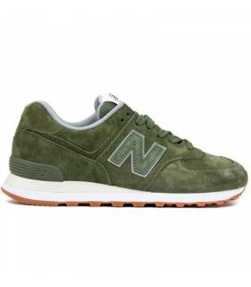 NEW BALANCE 574 VERDE BOTELLA M