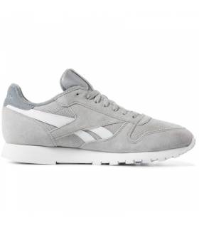 REEBOK CLASSIC LEATHER GRIS HOMBRE