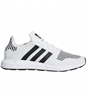 ADIDAS SWIFT RUN BLANCO/NEGRO M