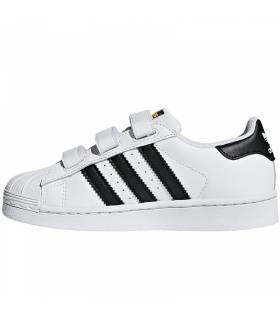 ADIDAS SUPERSTAR BLANCO/NEGRO K
