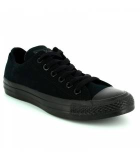 CONVERSE CHUCK TAYLOR ALL STAR LOW TOTAL BLACK UNISEX
