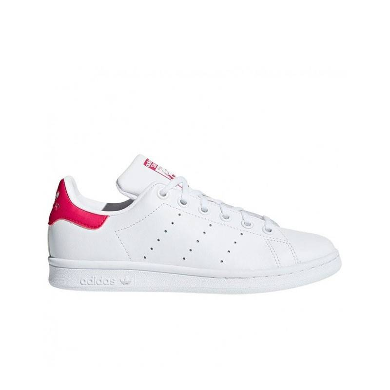 ADIDAS STAN SMITH BLANCO Y ROSA J