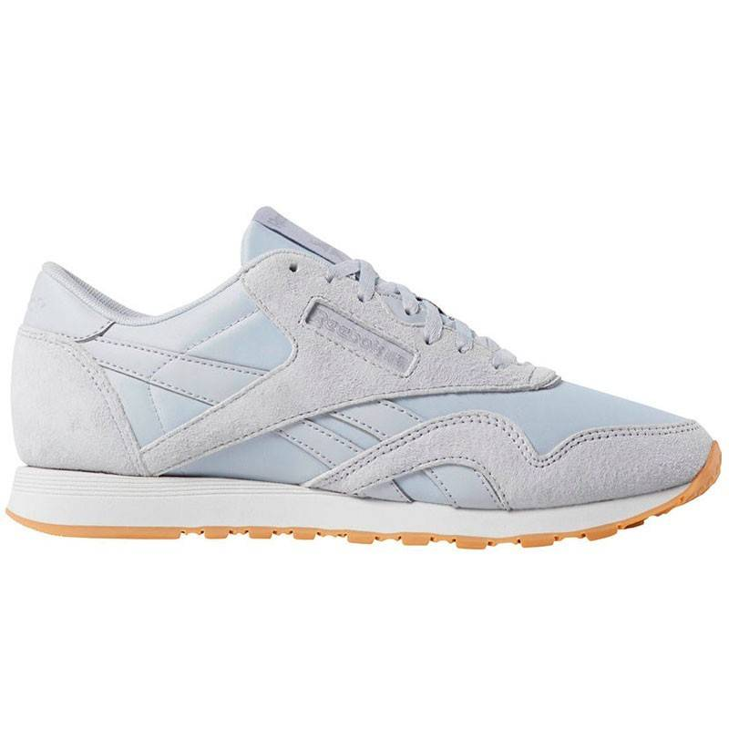 REEBOK CLASSIC LEATHER GRIS W