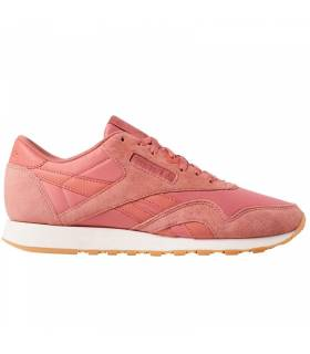 REEBOK CLASSIC LEATHER ROSA SALMÓN W