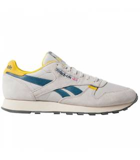 REEBOK CLASSIC LEATHER GRIS AMARILLO M