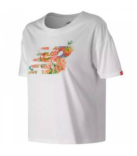 NEW BALANCE CAMISETA SWEET NECTAR BLANCO W