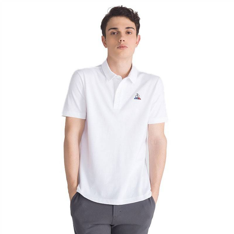 LE COQ POLO ESSENTIALS BLANCO M