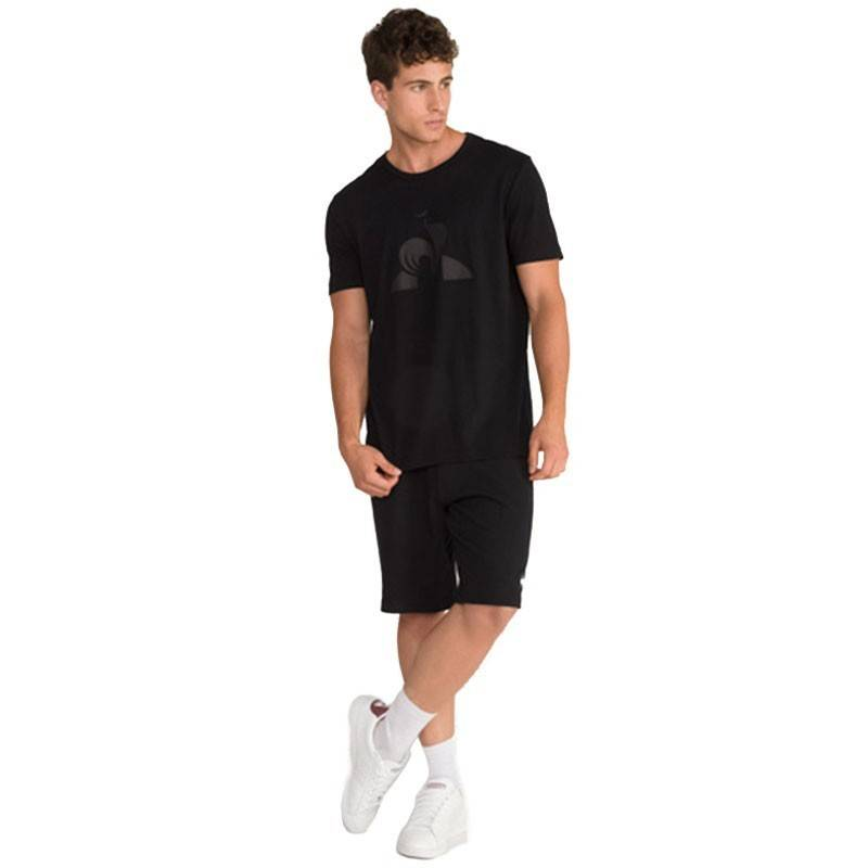 LE COQ CAMISETA ESSENTIALS NEGRO M
