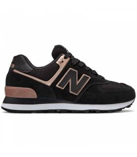 NEW BALANCE 574 TOTAL BLACK MUJER