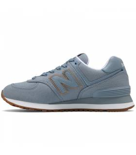 NEW BALANCE 574 GRIS CEMENTO MUJER