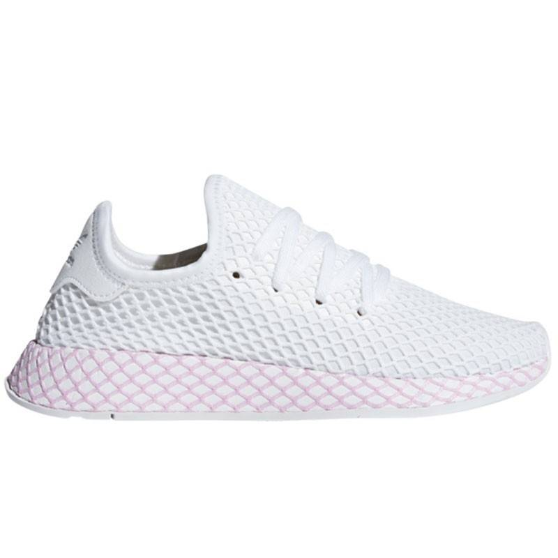 Zapatillas adidas Deerupt Blanco Rosa para mujer | T-Box Color BLANCO Shoes  Size 40 2/3