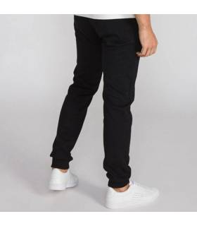 LE COQ PANTALÓN ESSENTIALS SLIM TOTAL BLACK M