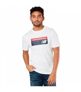 NEW BALANCE CAMISETA ATHLETICS BLANCO M