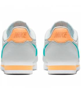 NIKE CLASSIC CORTEZ GRIS/CIAN MUJER