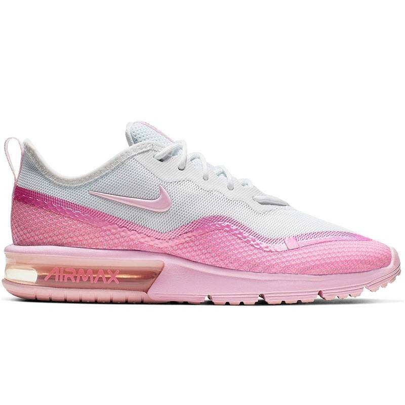 NIKE AIR MAX SEQUENT 4.5 SE ROSA MUJER