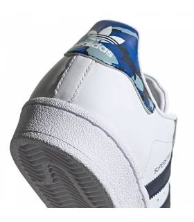 ADIDAS SUPERSTAR BLANCO AZUL JUNIOR
