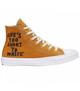 CONVERSE CHUCK TAYLOR RENEW HIGH CAMEL MUJER