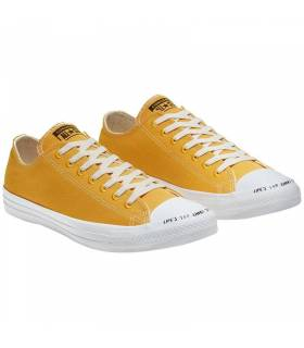 CONVERSE CHUCK TAYLOR RENEW LOW MOSTAZA MUJER