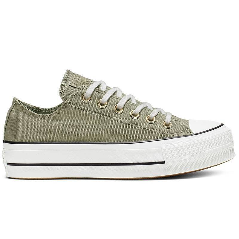 converse all star verdes mujer