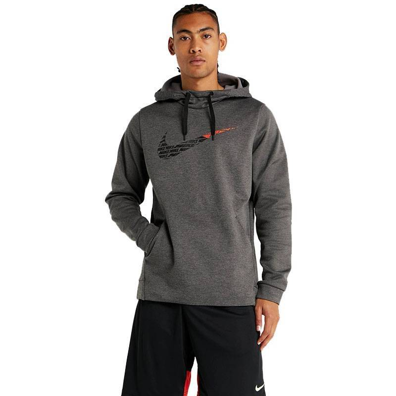 NIKE THERMA SWOOSH GRIS HOMBRE