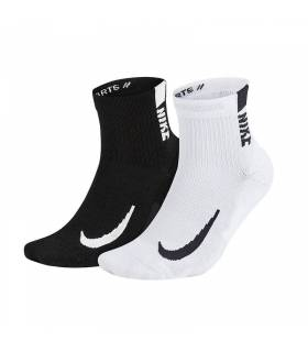 NIKE CALCETINES MULTIPLIER ANKLE NEGRO HOMBRE