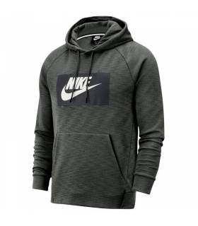 NIKE SPORTSWEAR OPTIC FLEECE GRIS HOMBRE