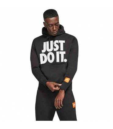NIKE SUDADERA JUST DO IT NEGRO HOMBRE