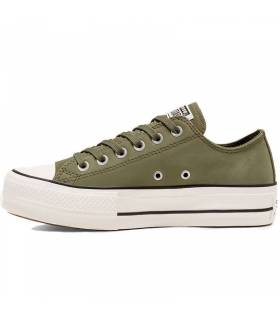 CONVERSE CHUCK TAYLOR ALL STAR LIFT VERDE MUJER
