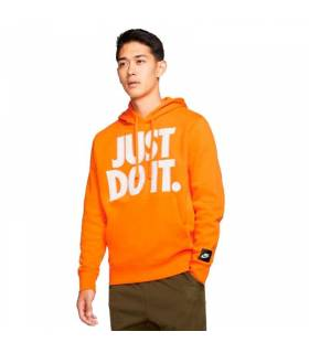 NIKE SUDADERA JUST DO IT NARANJA HOMBRE