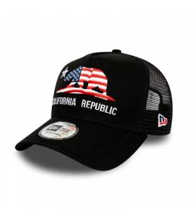 NEW ERA GORRA CALIFORNIA TRUCKER NEGRO
