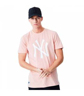 NEW ERA CAMISETA MLB NEGRO ROSA