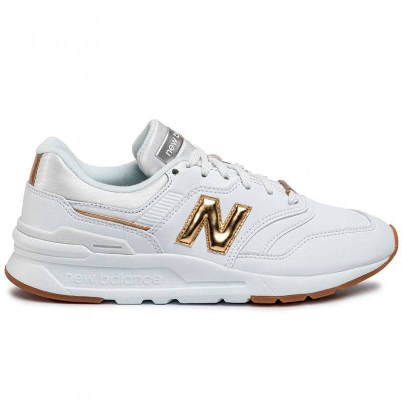 New Balance 997H Blanco Dorado para Mujer | T-Box Color BLANCO Shoes Size 36
