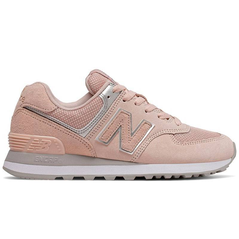 new balance mujer 574 beige y rosas