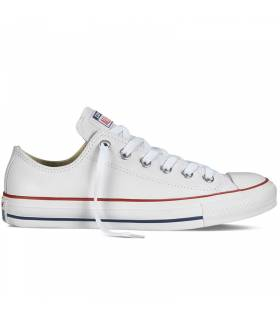 CONVERSE CHUCK TAYLOR ALL STAR LOW LEATHER BLANCO UNISEX