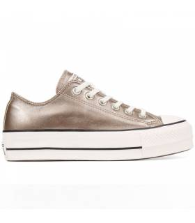 CONVERSE CHUCK TAYLOR ALL STAR LIFT METALLIC LEATHER LOW W