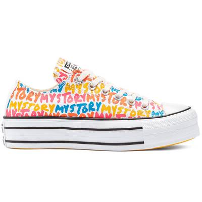 CONVERSE CHUCK TAYLOR DOUBLE STACK LIFT BLANCO MUJER